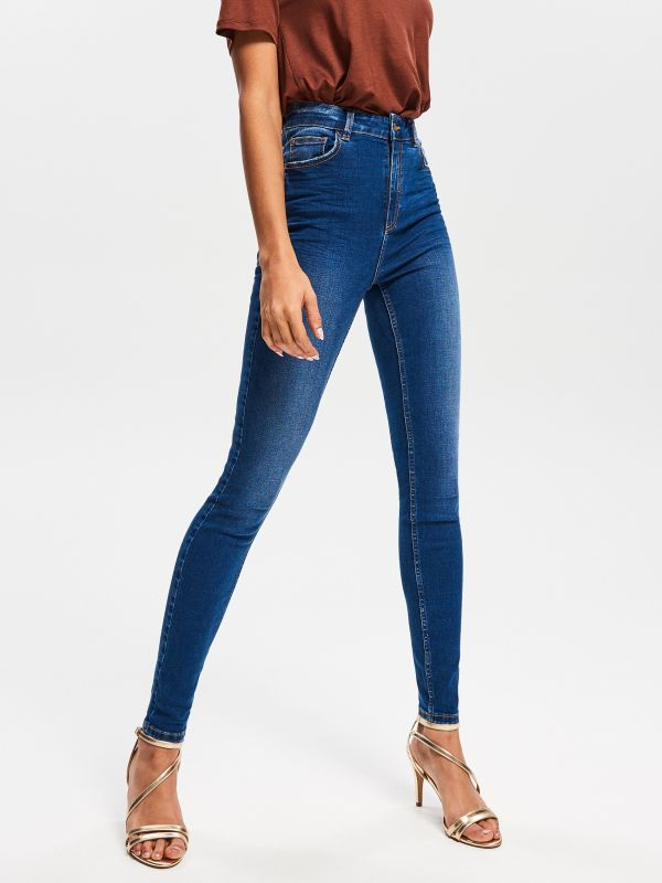 f615bd6913a 4 High waisted jeans - navy - US496-59J - RESERVED