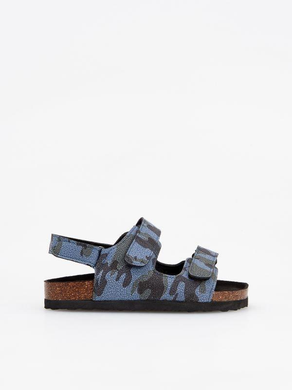 58e38272c909b Skórzane sandały · Sandały moro - niebieski - VC467-95X - RESERVED. Rozmiary  ...