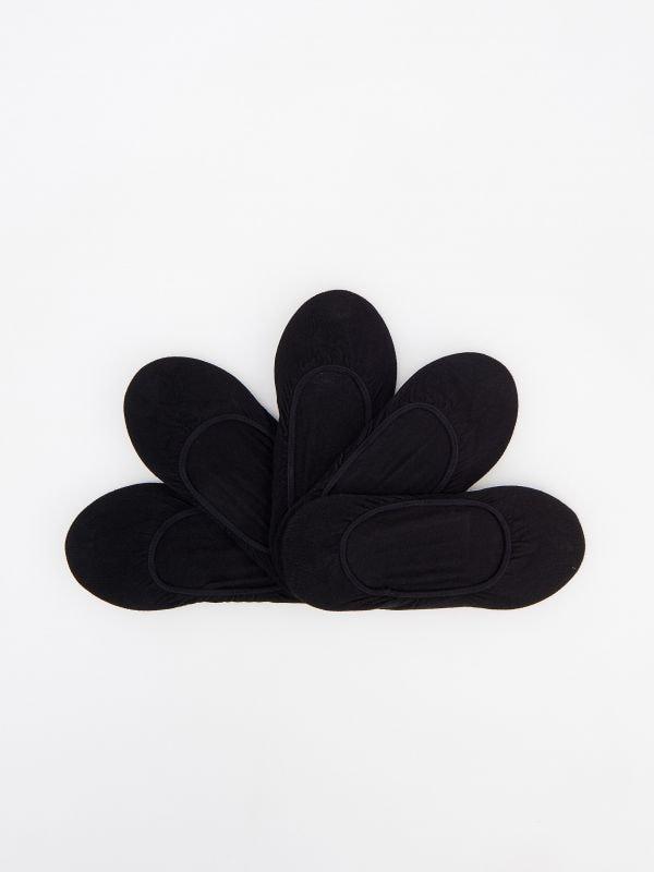 d02241308ff2 DÁMSKE PONOŽKY · Súprava 5 párov teniskových ponožiek - čierna - VP710-99X  - RESERVED