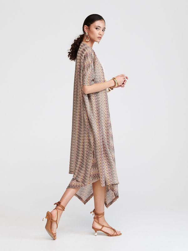 1fd14f5f46dbf Wzorzyste kimono · Wzorzysta narzutka - wielobarwny - VV466-MLC - RESERVED