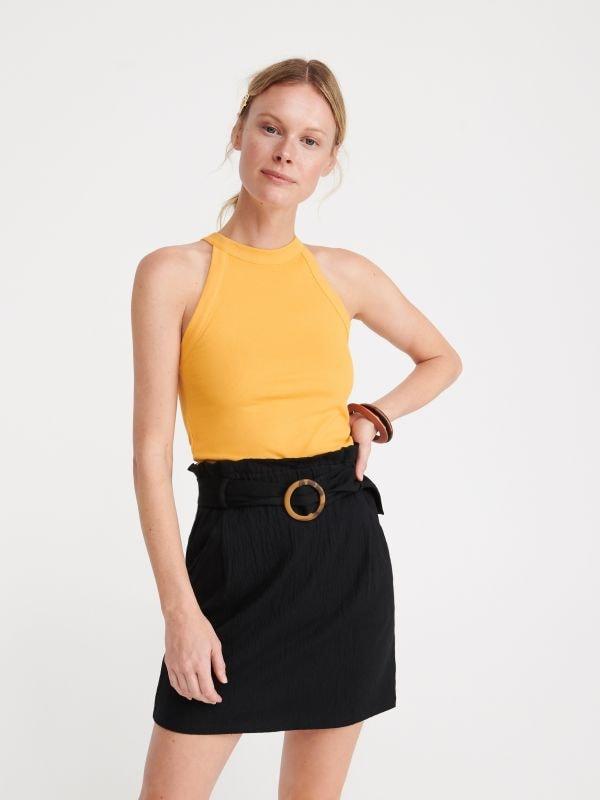 f02180059320 Džínsová sukňa · LADIES` SKIRT - čierna - WB033-99X - RESERVED