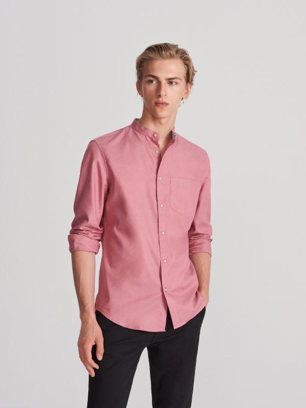 27547d78457eee Koszula z bawełny organicznej · Koszula z bawełny organicznej - różowy -  WG565-03X - RESERVED