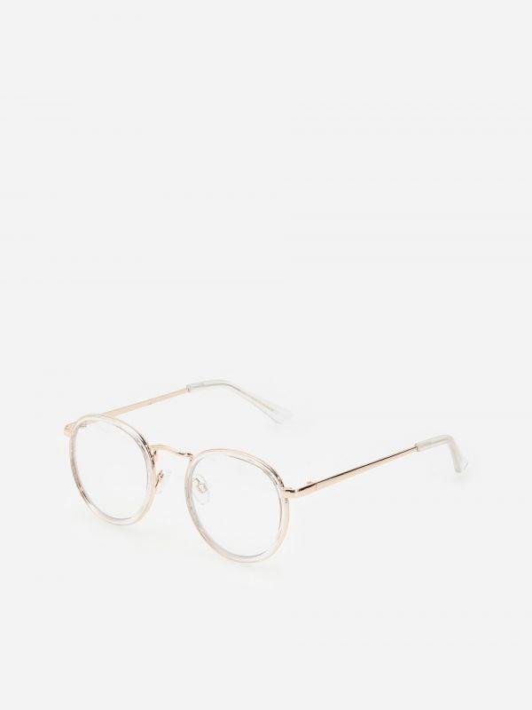 fde53eb3d3f9c0 Okulary przeciwsłoneczne · Okulary zerówki - biały - WV835-00X - RESERVED